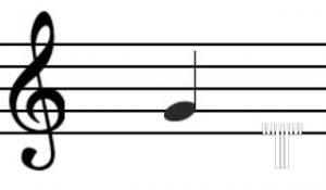 ارزش زمانی نت موسیقی تنظیم کده